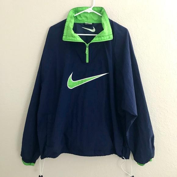 2ea30a91568 Nike Jackets & Coats | Vtg 90s Mens Colorblock Windbreaker Jacket Xl ...